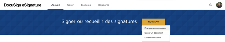 docusign esignature plateforme