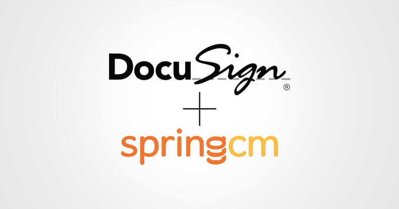 DocuSign + SpringCM