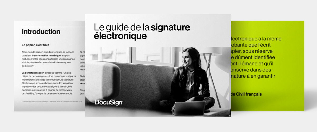 DocuSign - Guide de la signature électronique