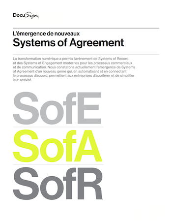 Livre Blanc DocuSign System of Agreement