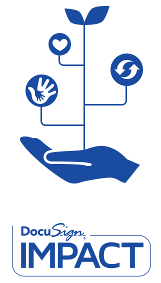 DocuSign Corporate Responsibility Icon and Logo