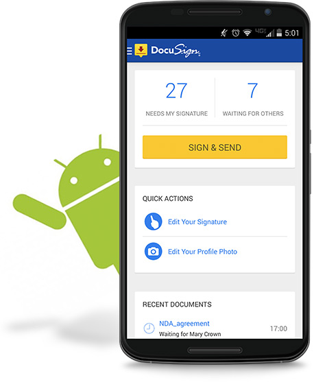 DocuSign pour Android