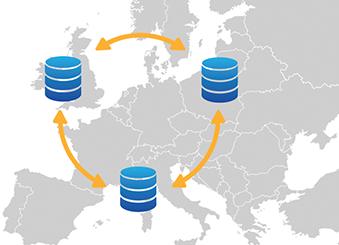 DocuSign EU Data Center Map