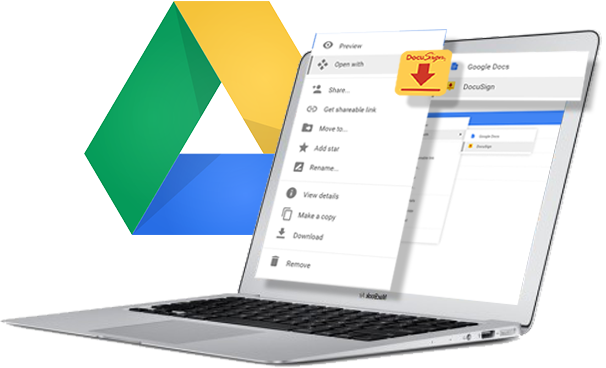 DocuSign pour Google Drive