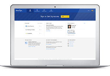 New DocuSign Experience