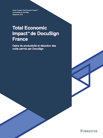 Livre Blanc Forrester DocuSign