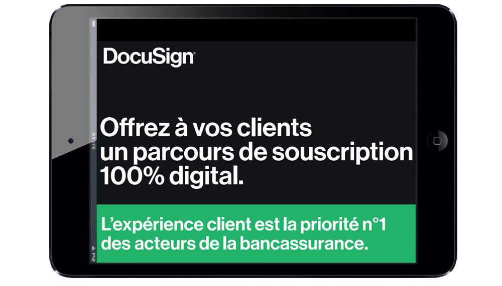 Offrez à vos clients un parcours de souscription 100% digital