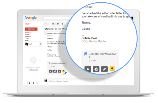 DocuSign pour Gmail