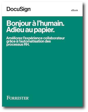 Bonjour à l'humain. Adieu au papier.