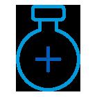 Icône de porte-monnaie contenant le symbole plus (+) en son centre.