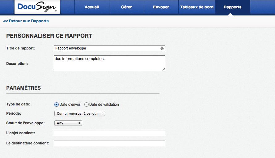 Suivi en temps réel d'une signature électronique sur la plateforme DocuSign
