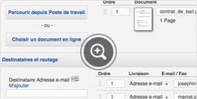 Ajout de signataires sur la plateforme signature électronique DocuSign