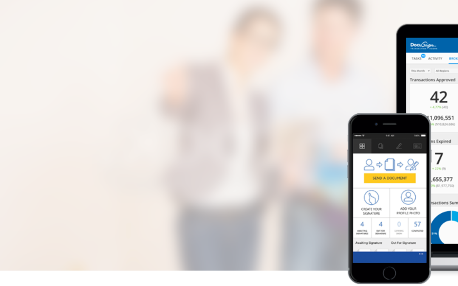 DocuSign for Real Estate hero image