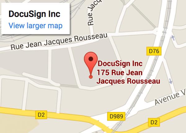 DocuSign Paris