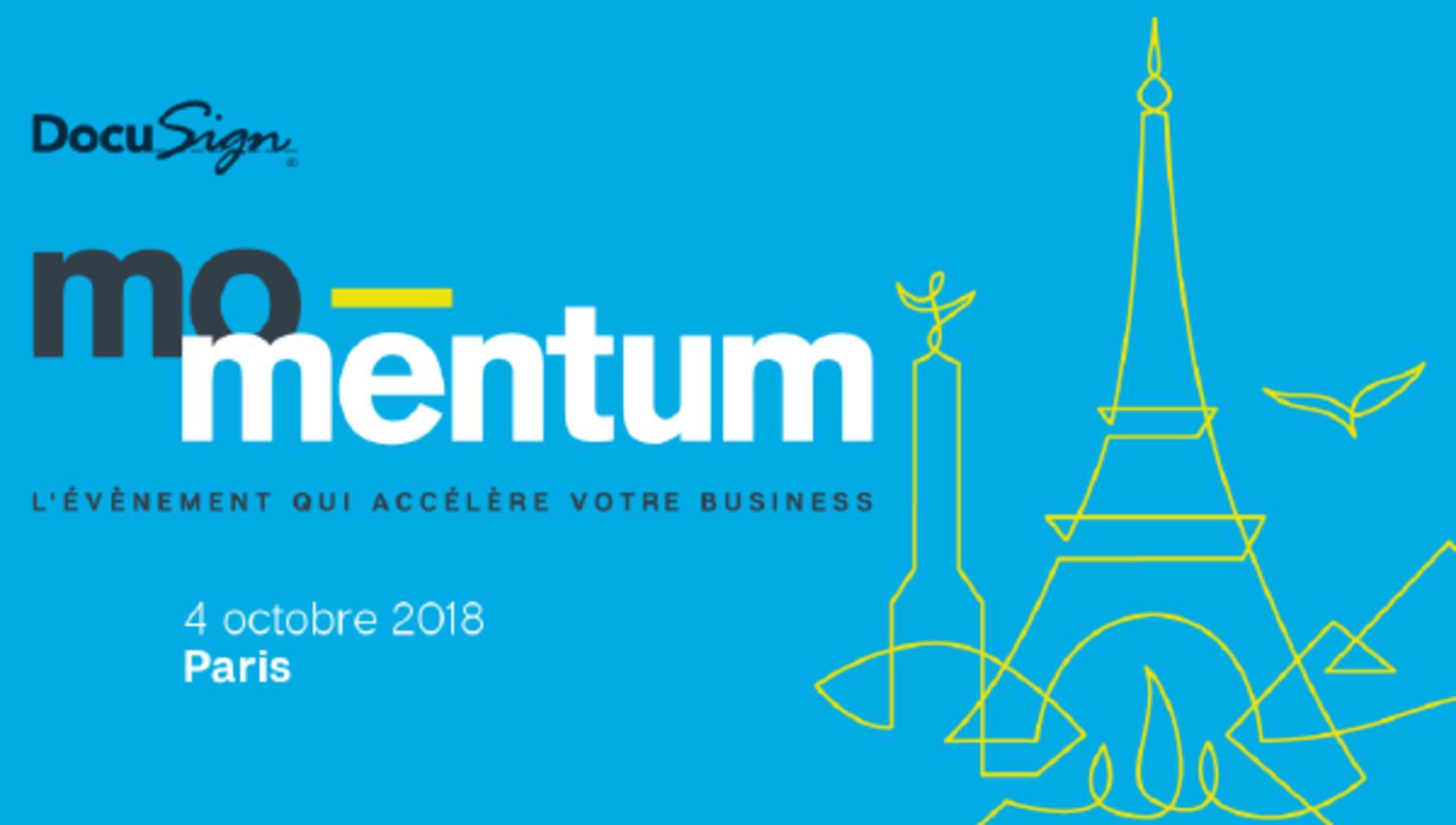 Évènement - Momentum Paris 2018