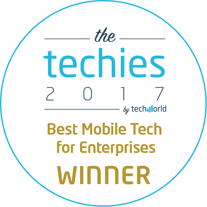 Best Mobile Tech for Enterprises award
