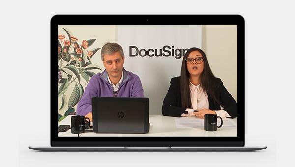 Webinar à la demande signature électronique
